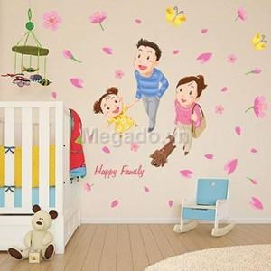 Decal gia đình bố mẹ  A010