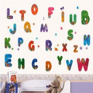 Decal chữ cái giáo dục A095