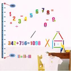 Decal đo chiều cao chữ số A112