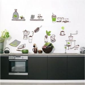 Decal trang trí bếp A116
