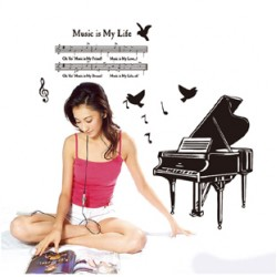 Decal  piano A271