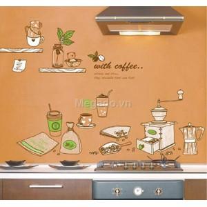 Delcal trang trí bếp A424