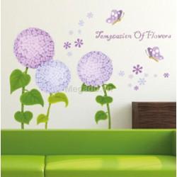 Decal Bông lớn - Hoa cẩm tú cầu A425