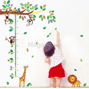 Decal đo chiều cao cho bé A516