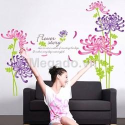 Decal hoa cúc A540