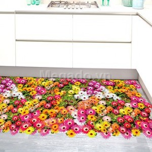 Decal thảm hoa cúc A570
