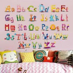 Decal bảng chữ cái A587