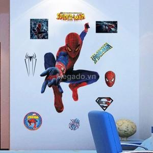 Decal dán tường người nhện A810