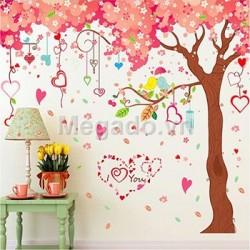 Decal cây tình yêu A861
