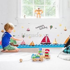 Decal thuyền và biển B034