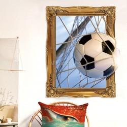 Decal khung ảnh và bóng đá B161