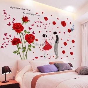 Decal hoa hồng tình yêu N211