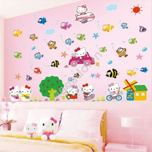 Decal hello kitty N309