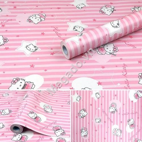 10m Giấy dán tường Hello Kitty C0007A