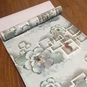 Giấy dán tường hoa 3d C0008