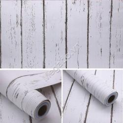 Decal dán tường giả gỗ C0018