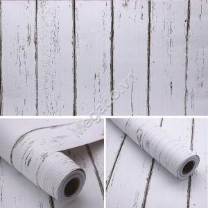 10m Decal dán tường giả gỗ C0018