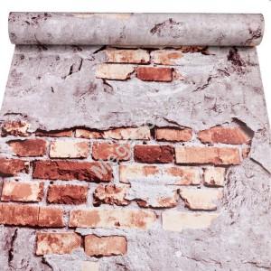 Giấy dán tường giả gạch C0023