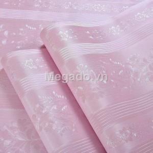 Giấy dán tường sọc hồng C0032B
