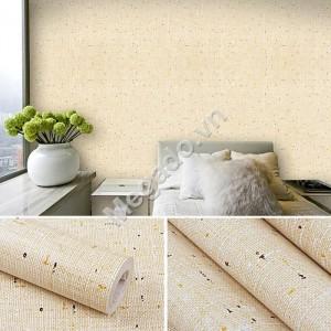 Giấy dán tường giả vải vàng C0033