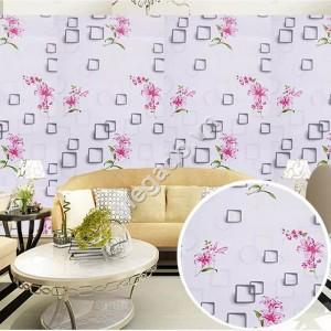 Giấy dán tường hoa ly hồng C0038