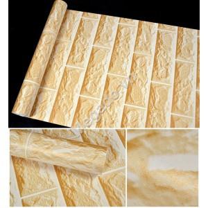 Giấy dán tường gạch vàng C0039B