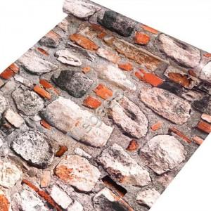 Giấy dán tường giả đá C0068