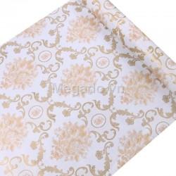 10m Giấy dán tường hoa văn vàng C0071