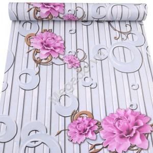 Giấy dán tường hoa tím C0085
