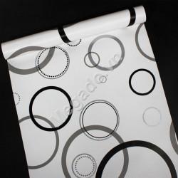 Giấy dán tường hình vòng tròn C0086