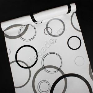 10m Giấy dán tường hình vòng tròn C0086