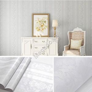 Giấy dán tường hoa văn sọc trắng E0033