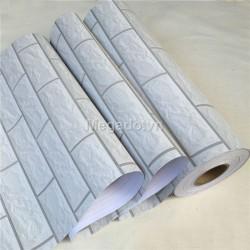 Giấy dán tường gạch trắng H0001
